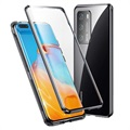 Huawei P40 Pro Magnetisches Cover mit Panzerglas