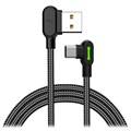 Mcdodo Night Elves 90-degree USB-C Kabel - 1.8m - Titan Sort